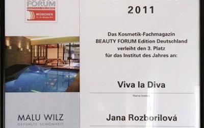 Viva la diva´s ganzer Stolz – Institut des Jahres 2011