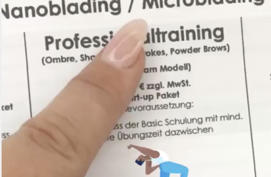 Micro&Nanoblading bald bei uns!